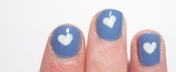 p=20134 Nail art I love secret peri-wink-le